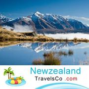 It's the travel with newness when you're in New Zealand