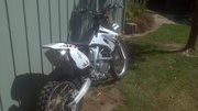 YZF 450 2007 model limited edition