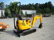 2004 JCB Micro Excavator w Trailer 986 Hrs 2100 lb