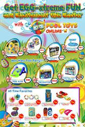 Get EGG-xtreme FUN and Excitement this Easter with PoolToys Online!