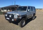 2007 TOYOTA 2007 Toyota Landcruiser GXL Manual 4x4