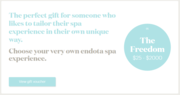 Endota Spa Gift Vouchers & Packages